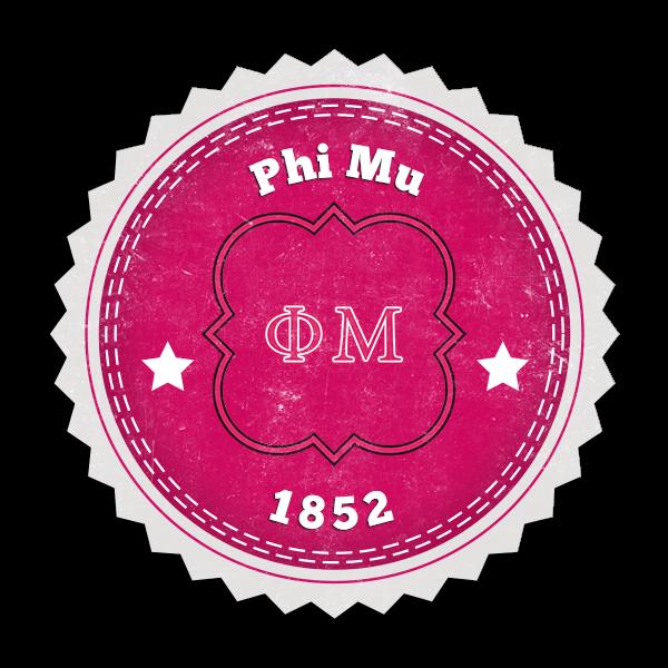 Phi Mu Seal (Mockup)