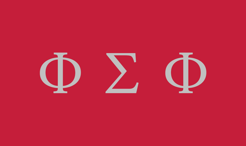 Phi Sigma Phi Flag