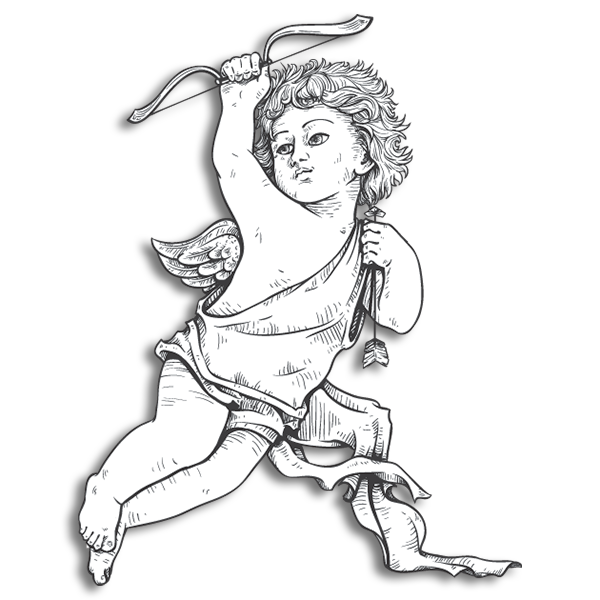Pi Beta Phi Mascot - Angel