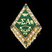 Sigma Alpha Badge