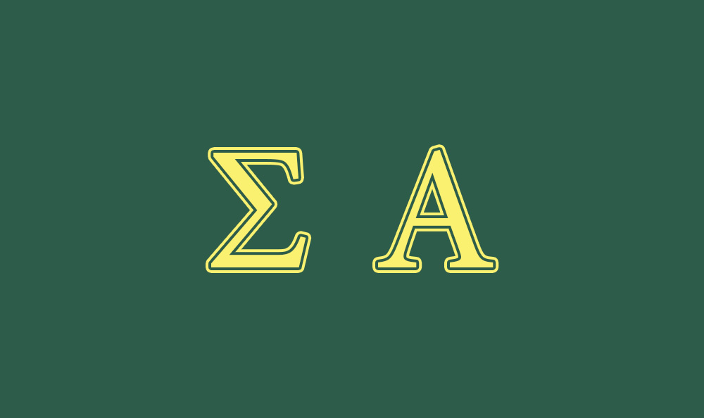 Sigma Alpha Flag