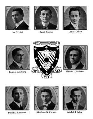Sigma Alpha Mu Founding Fathers
