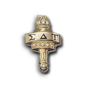 Sigma Delta Tau Badge