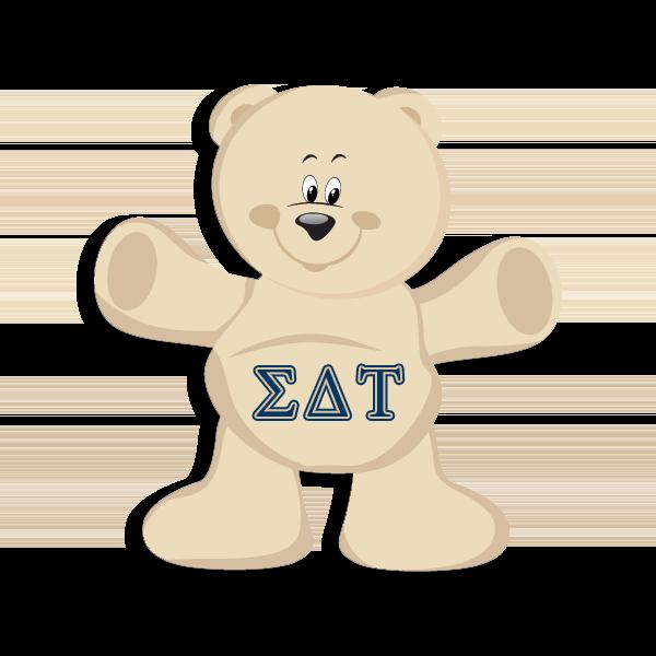 Sigma Delta Tau Mascot - Teddy Bear