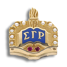 Sigma Gamma Rho Badge