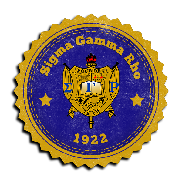 Sigma Gamma Rho Seal (Mockup)