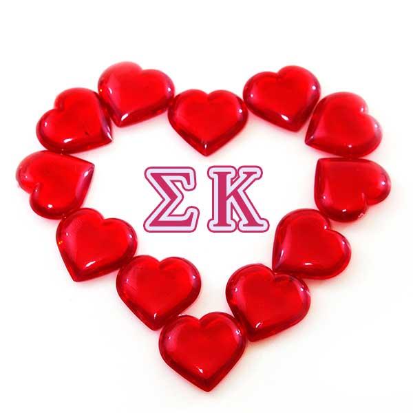 Sigma Kappa Symbol - Heart