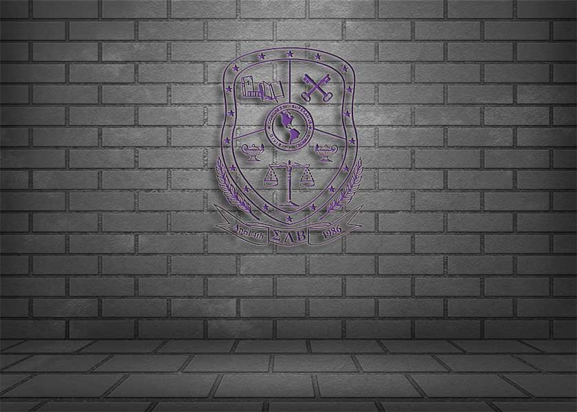 Sigma Lambda Beta Coat of Arms