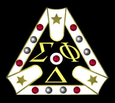Sigma Phi Delta Badge