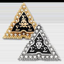 Sigma Sigma Sigma Badge