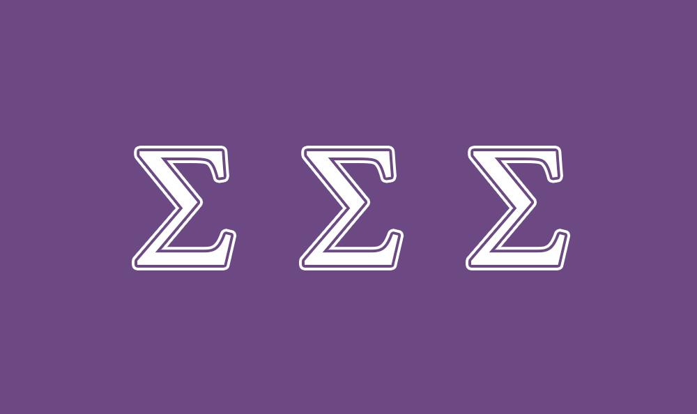 Sigma Sigma Sigma Flag
