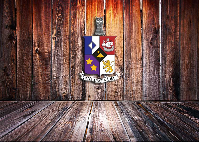 Tau Delta Phi Coat of Arms