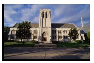The Levere Memorial Temple in Evanston, IL.