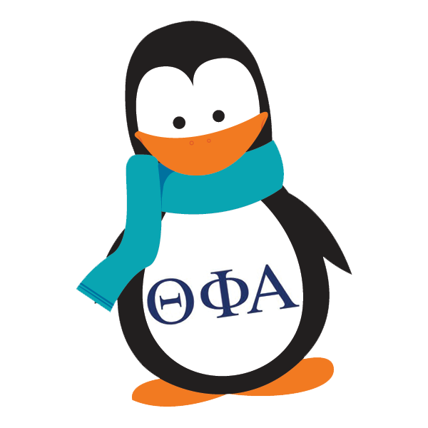 Theta Phi Alpha Mascot - Penguin