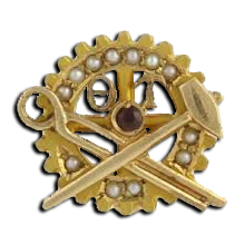 Theta Tau Badge