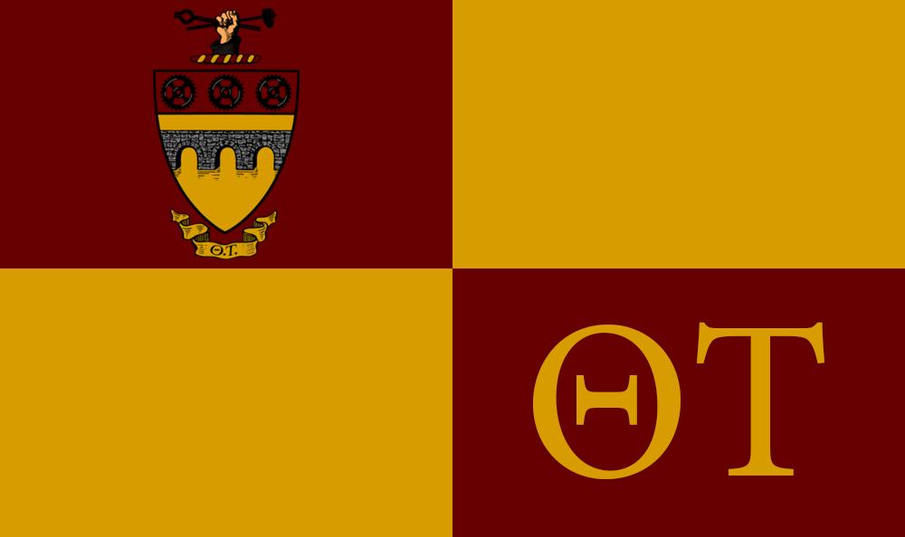 Theta Tau Flag