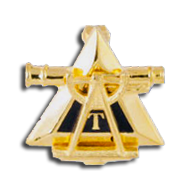 Triangle Fraternity Badge