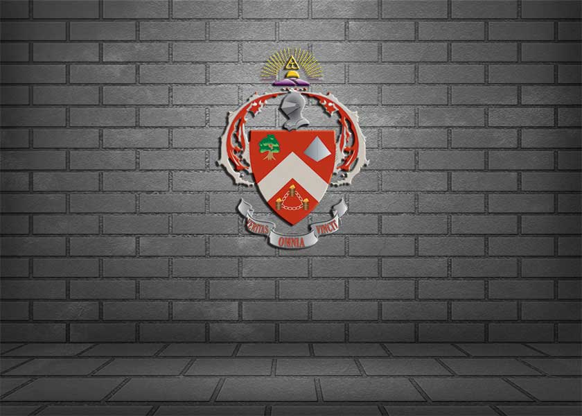 Triangle Fraternity Coat of Arms
